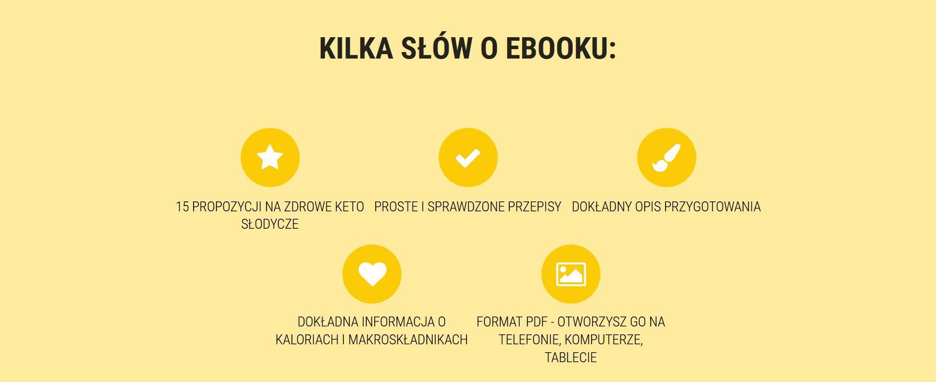 keto słodycze_tło