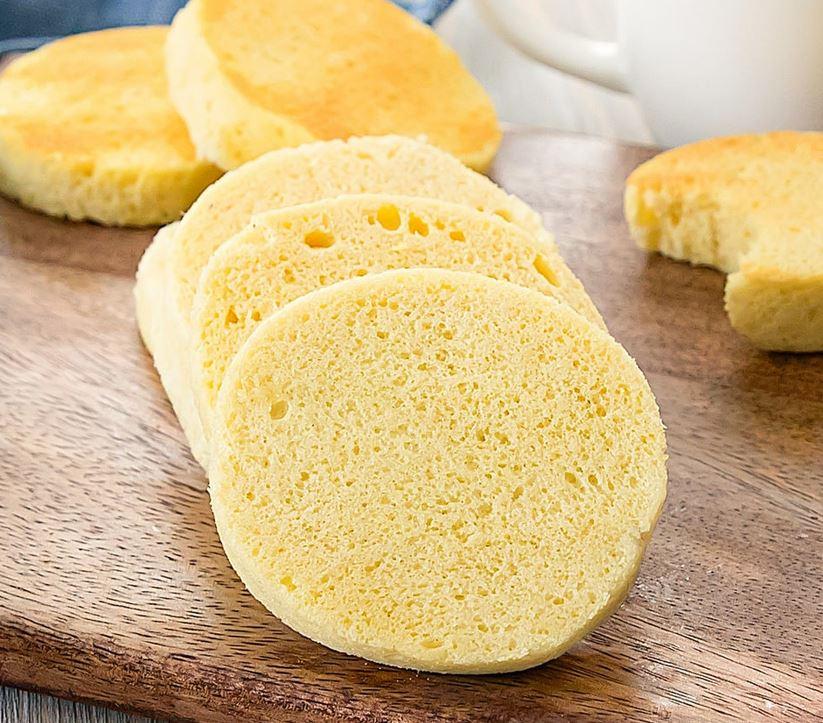 keto chleb z mikrofali