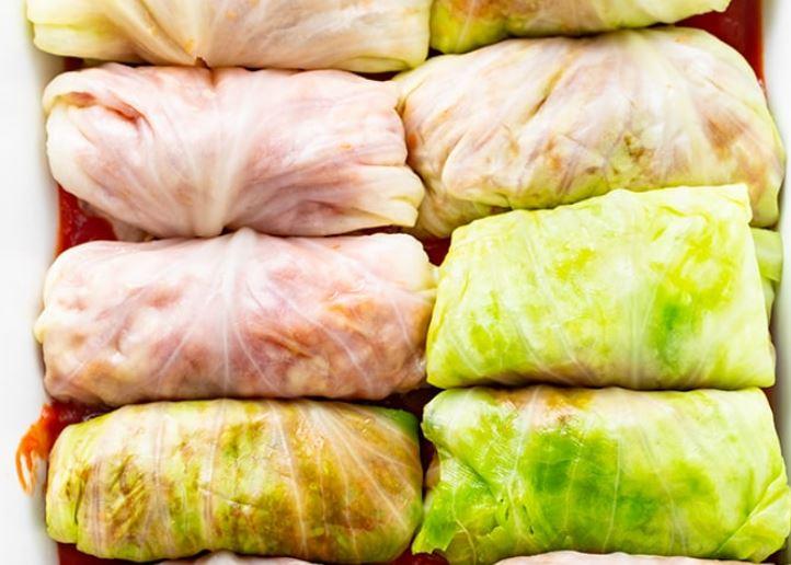 keto gołąbki z ryżem z kalafiora